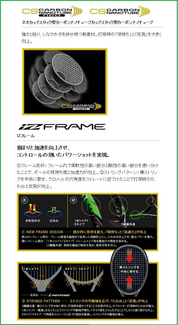 (Yonex) YONEX tennis racquet ink stage 90 V avant for i-NEXTAGE90V25% upup7