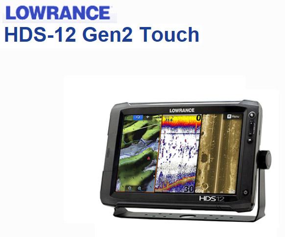 LOWRANCE (Laurance) HDS-12 GEN2 Touch GPS Japan Japanese model