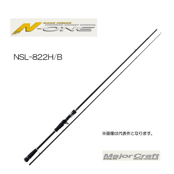 メジャークラフト エヌワン NSL-822H/B【大型商品】