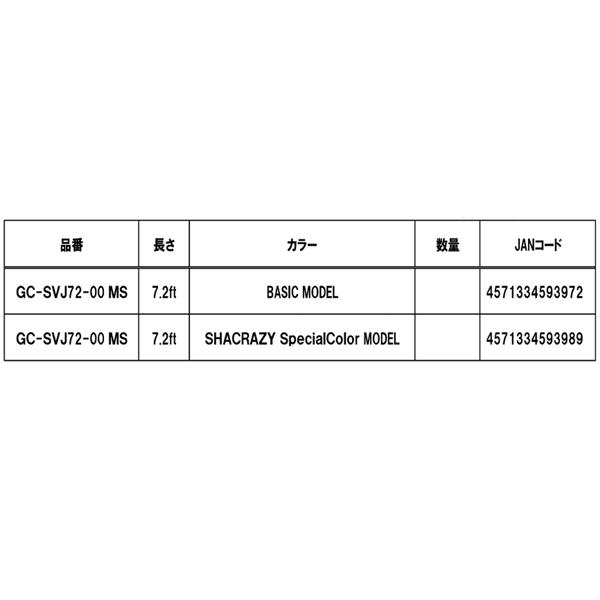 gannkurafutosupabaiorensujaku GC-SVJ72-00 MS BASIC型号彩色