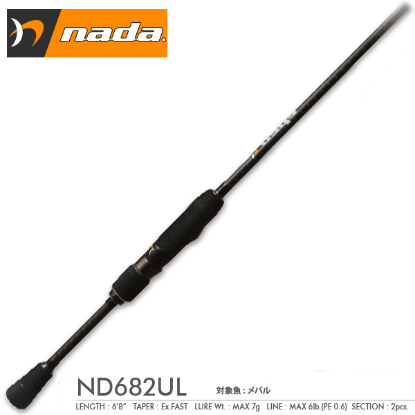 メガバス ナダ ND682UL Megabass nada 【お取り寄せ商品】【大型商品】