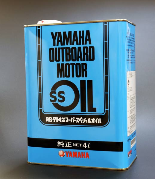 4L for Yamaha outboard motor SS oil 2 cycles separation, the mixture