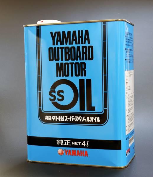 ヤマハ 船外機SSオイル 2サイクル分離 混合用 メール便NG 品番 セールSALE%OFF 4L 激安通販専門店 90790-70428