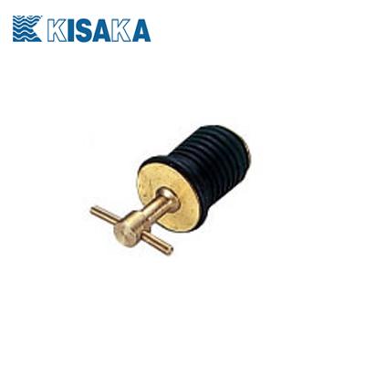 キサカ 1インチ ドレンプラグ 回転式 品番503714 KISAKA 【メール便OK】