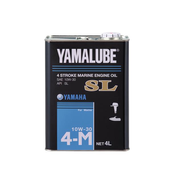 ヤマハ 4サイクルマリンオイルSL 10W-30 4L ガソリンエンジン用 品番 90790-71512 【メール便NG】
