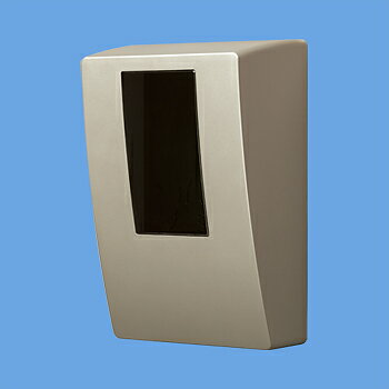パナソニック スマートデザインシリーズ WHMボックス 隠蔽配線用 防雨型 1コ用・30A~120A用 東京電力管内を除く全電力管内用 単相2線・単相(三相)3線用 シャンパンブロンズ BQKN8315Q