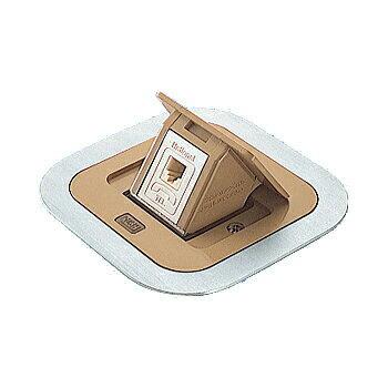 パナソニック F型アップコン 角型 電話用 モジュラジャック ブラウン(バーチ) DU2303ATK