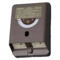 パナソニック 電子EEスイッチ付フル接地防水コンセント タイマ連動コンセント3A 常時コンセント12A AC100V 露出・埋込両用 ブラウン EE4353AK