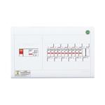 パナソニック 1次送り(100V)回路付住宅分電盤 リミッタースペースなし 露出形 ヨコ1列 回路数10+回路スペース2 50A 《スッキリパネルコンパクト21》 BQWB851021