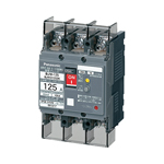 パナソニック Panasonic 漏電ブレーカ(モータ保護兼用) BJW-125型 3P3E 60A 100/200/500mA切替 (端子カバー付) BJW36091K