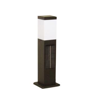 SPL-SL-ORB JAPPY(ジャッピー)因幡電機産業 ガーデンライト ソーラーライト ポールライト 黒 LED(電球色)