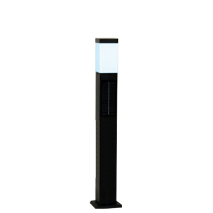 SPL-SLH-ORB JAPPY(ジャッピー)因幡電機産業 ガーデンライト ソーラーライト ポールライト 黒 LED(電球色)
