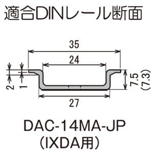 JAPPY(ジャッピー) 因幡電機産業 DINレールカッター IXDA用 (690-370-00100) DAC-14MA-JP
