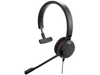 GNオーディオジャパン PC向けモノラルヘッドセット(片耳タイプ) Jabra Evolve 30 II UC Mono (商品番号:5393-829-309)
