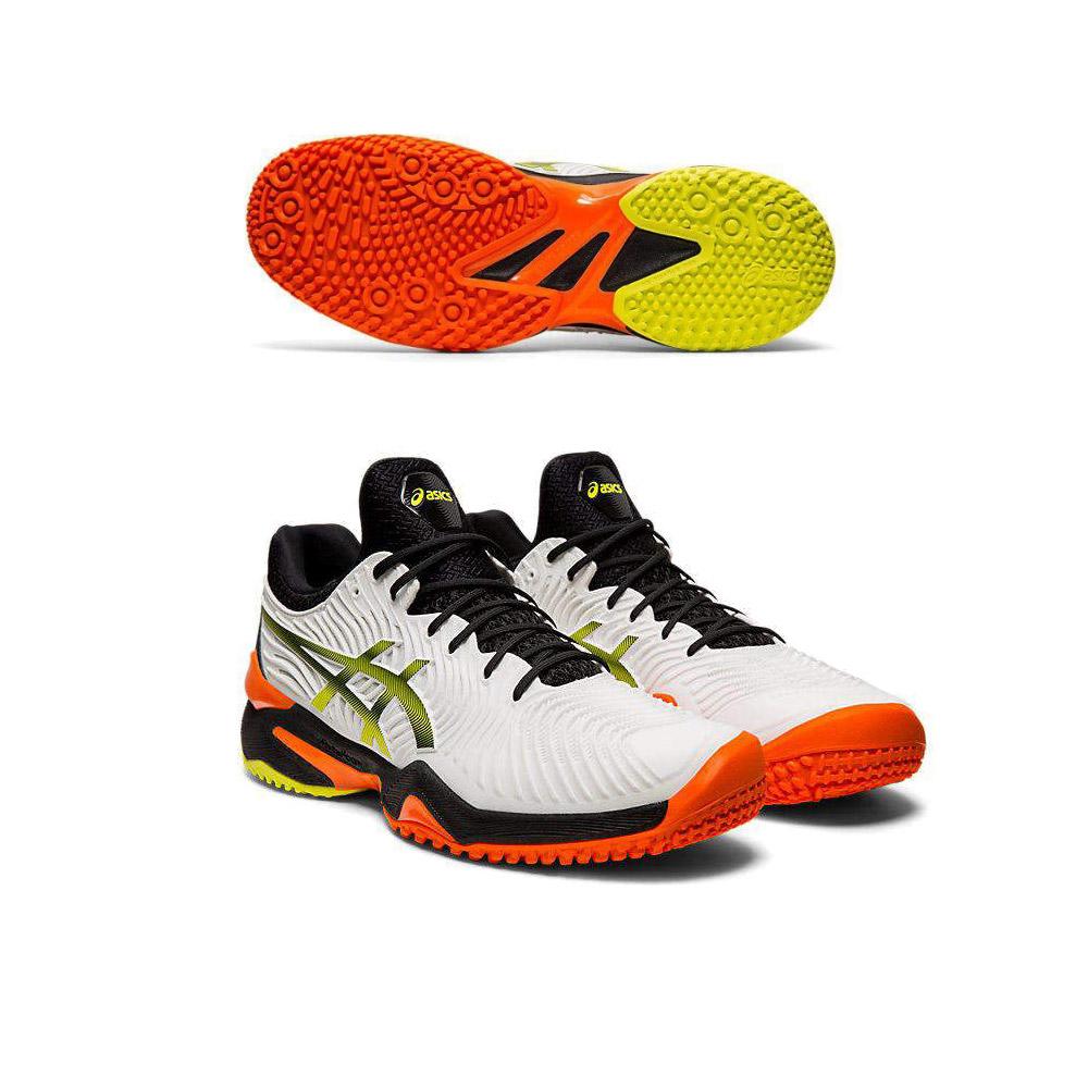 アシックス asics テニスシューズ メンズ COURT FF 2 OC オムニ・クレーコート用 1041A084-100