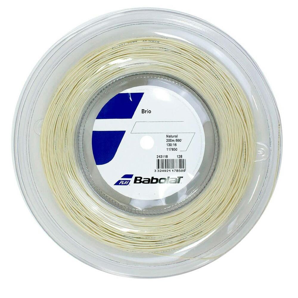送料無料 バボラ Babolat テニスガット ストリング セットアップ 最安値挑戦 200mロール ブリオ BRIO 243118