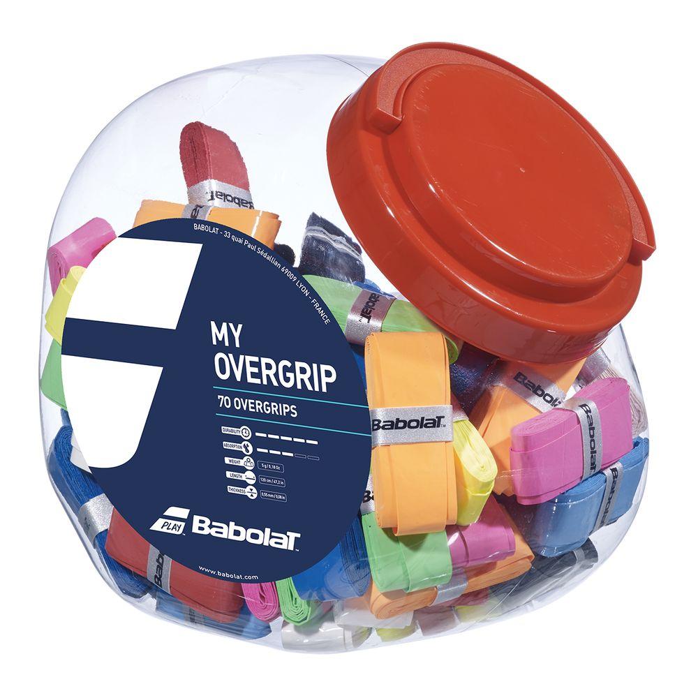 【送料無料】 バボラ Babolat テニスグリップテープ マイ オーバーグリップX 70 MY OVERGRIP X70 656006