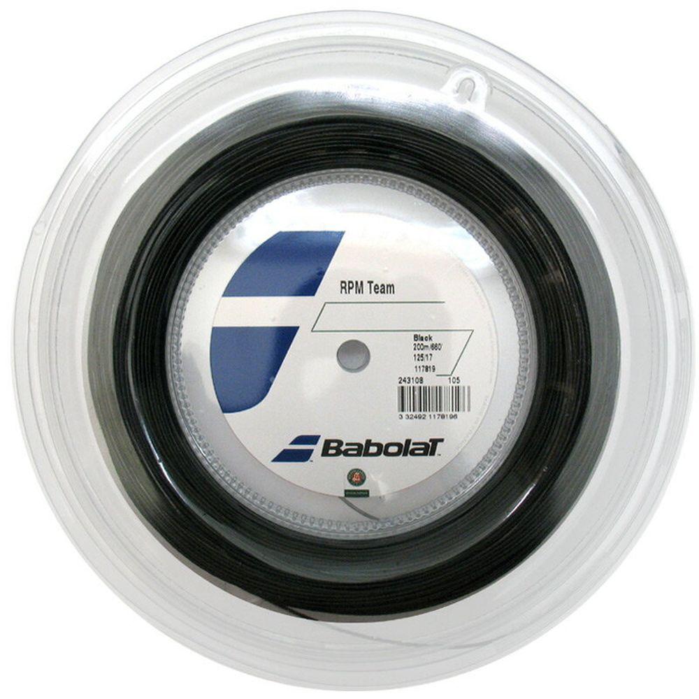 『即日出荷』BabolaT(バボラ)「RPM TEAM(RPMチーム)125/130 200mロール BA243108」硬式テニスストリング(ガット) 「あす楽対応」