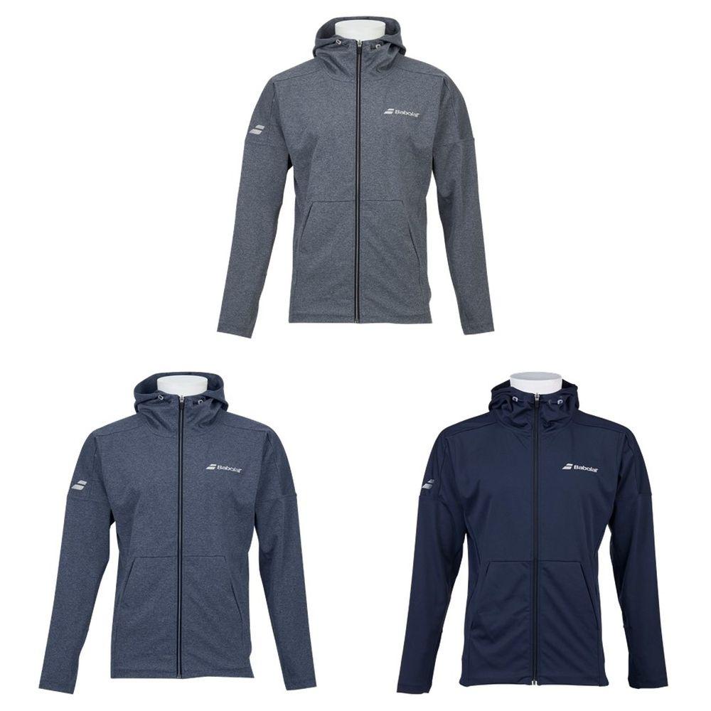 バボラ Babolat テニスウェア ユニセックス デニム風ニットジャケット DENIM JACKET BTUOJK43 2019FW 9月発売予定※予約