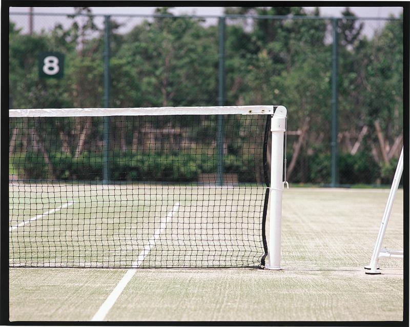 【6/25 エントリーでポイント10倍▲】[送料お見積り]DUNLOP(ダンロップ)【TC-510】硬式テニスネット(再生PET)