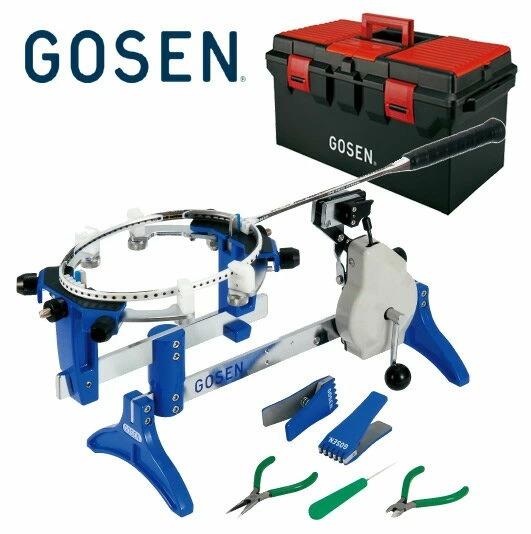 送料無料 GOSEN ゴーセン 高級な オフィシャルストリンガーAM200 スピード対応 全国送料無料 バドミントン専用手動ストリングマシン ストリングマシーン 7月下旬入荷予定※予約 ガット張り機