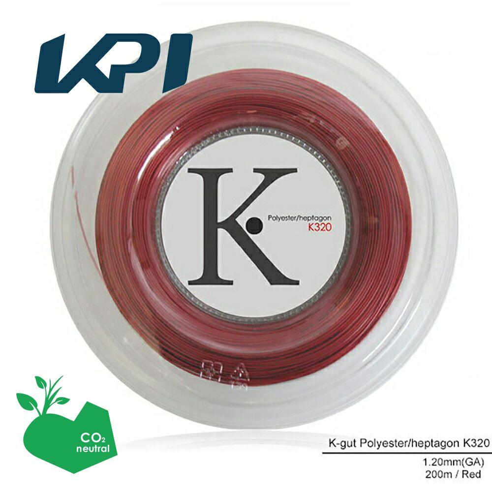 【均一セール】『即日出荷』 KPI(ケイピーアイ)「K-gut Polyester/heptagon K320 200mロール」硬式テニスストリング(ガット)「あす楽対応」【prospo】 KPIオリジナル商品