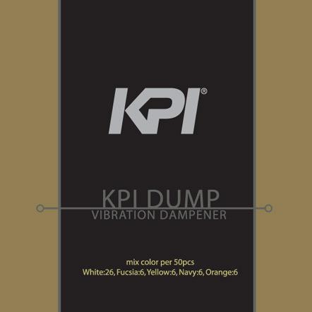 『即日出荷』 KPI(ケイピーアイ)「KPI DUMP 振動止め クリアタイプ 50個入セット KAC103b」「あす楽対応」 KPIオリジナル商品【harusport_d19】