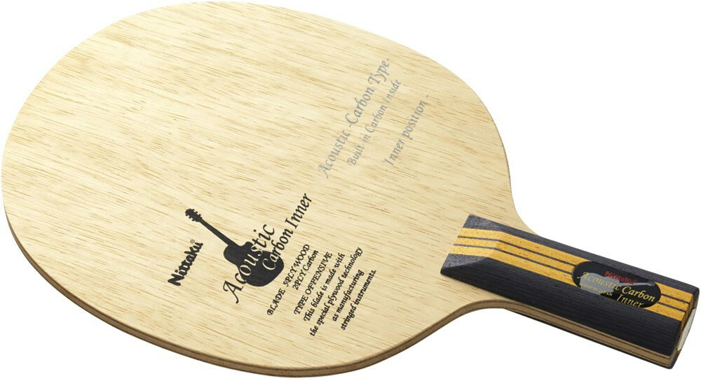 Nittaku(ニッタク)[【卓球 中国式ペンラケット】 アコースティックカーボンインナーC NC0192]卓球ラケット【prospo】