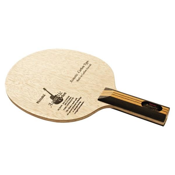 Nittaku(ニッタク)[アコースティックカーボン ST NC0384]卓球ラケット