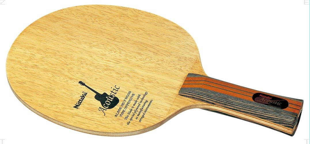Nittaku(ニッタク)[アコースティック FL NE6760]卓球ラケット