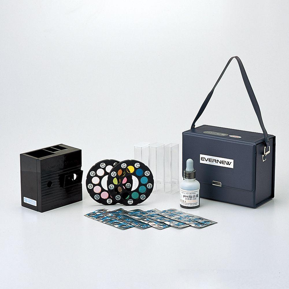 エバニュー EVERNEW 学校機器設備用品 残留塩素ペーハー測定器7 EHB299
