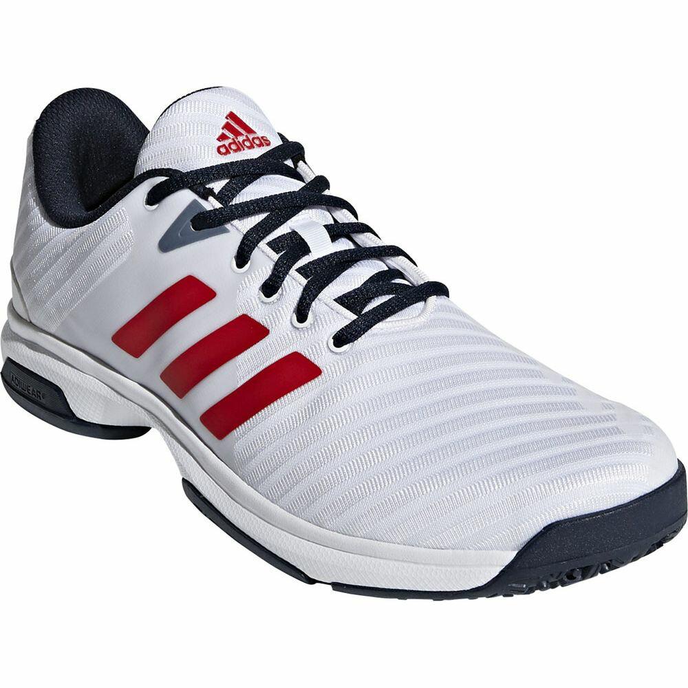 Adidas Barricade 2018 Men Tennis Shoes Black White CM7824