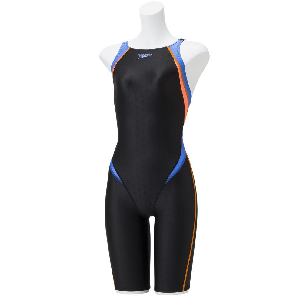 スピード Speedo 水泳水着 レディース フレックスシグマ2オープンバックニースキン SCW11909F