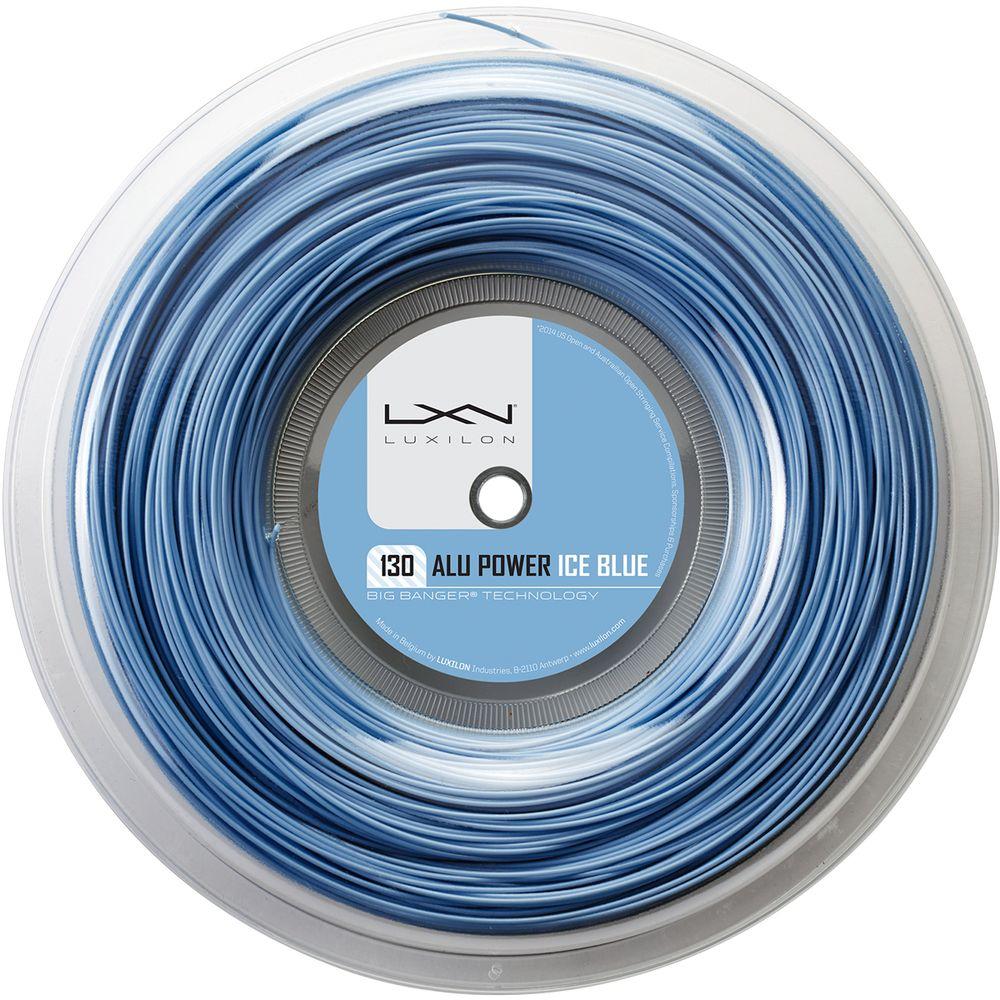 「あす楽対応」ルキシロン LUXILON テニスガット・ストリング ALU POWER 130 ICE BLUE REEL アルパワー130 アイスブルー 200mロール WRZ990230 『即日出荷』