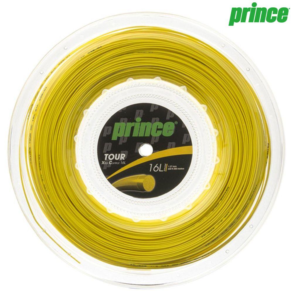 プリンス Prince テニスガット・ストリング TOUR XC 16L (ツアーXC16L) 200mロール 7J937