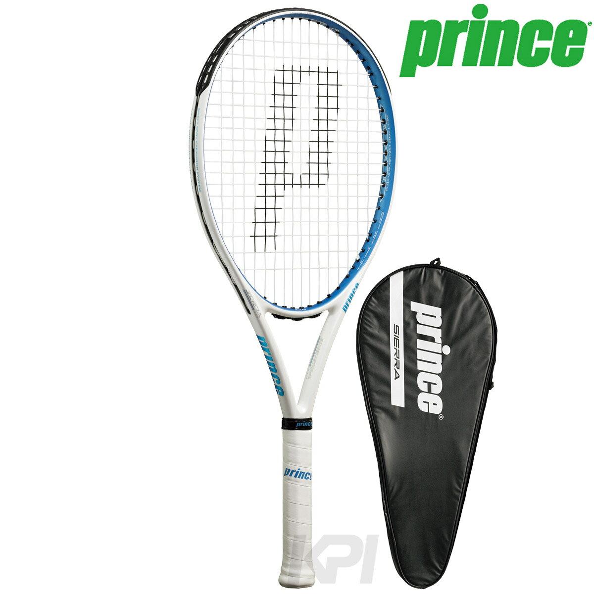 【均一セール】「あす楽対応」Prince(プリンス)「SIERRA 110(シエラ 110) 7TJ021」硬式テニスラケット(スマートテニスセンサー対応) 『即日出荷』