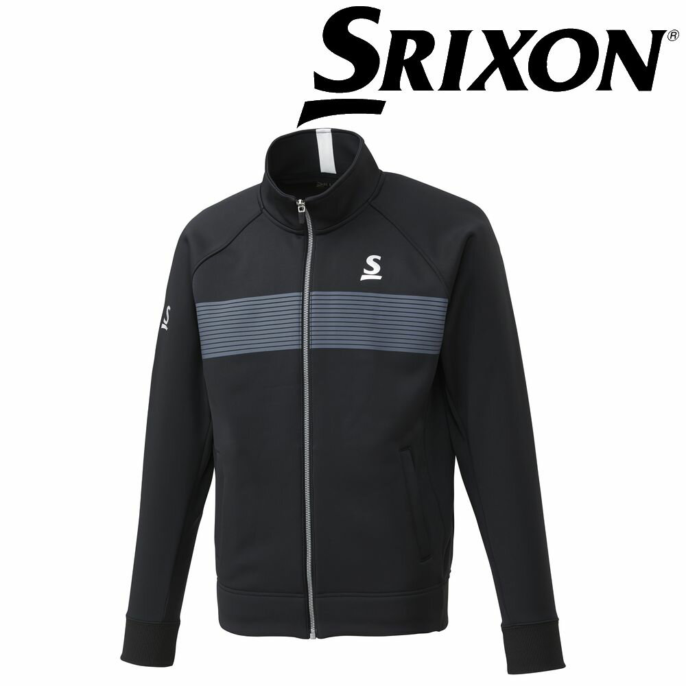 スリクソン SRIXON テニスウェア ユニセックス フリースジャケット SDF-5841 SDF-5841 2018FW