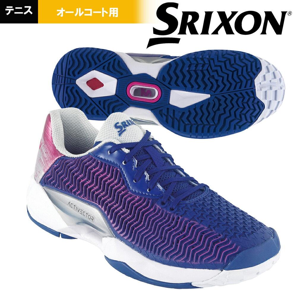 スリクソン SRIXON テニスシューズ レディース ACTIVECTOR ALL COURT (アクティベクター) オールコート用 SRS1011-NP