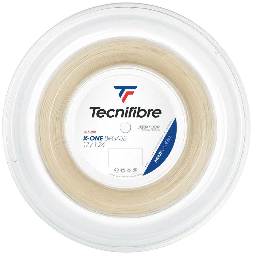 送料無料 テクニファイバー Tecnifibre テニスガット ストリング X-ONE 送料無料カード決済可能 TFSR201 1.24mm 200mロール TFR201 BIPHASE 購買 エックスワンバイフェイズ