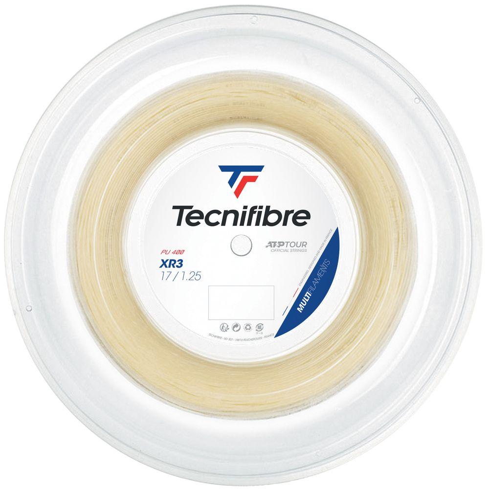 送料無料 テクニファイバー Tecnifibre 直営ストア テニスガット ストリング ハイクオリティ XR3 TFR215 TFSR202 エックスアール3 1.25mm 200mロール