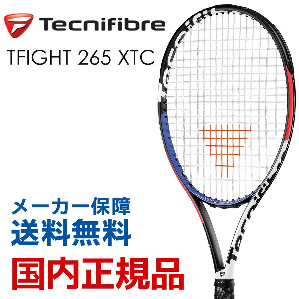 テクニファイバー Tecnifibre テニス硬式テニスラケット T-FIGHT 265 XTC BRFT07