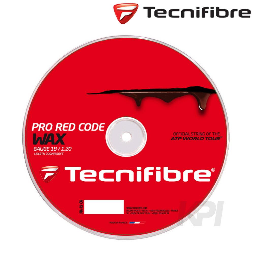 『即日出荷』 「2017モデル」Tecnifibre(テクニファイバー)「PRO RED CODE WAX 1.20(プロレッドコードワックス)200mロール TFR520」硬式テニスストリング(ガット)【prospo】「あす楽対応」