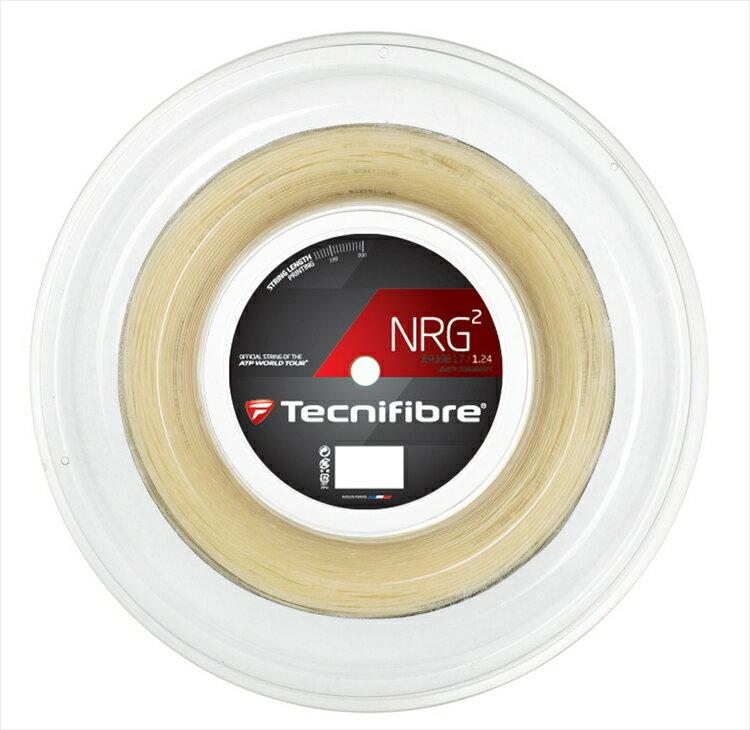 『即日出荷』「新パッケージ」Tecnifibre(テクニファイバー)「NRG2(エヌアールジースクエア) 200mロール TFR904」硬式テニスストリング(ガット)「あす楽対応」