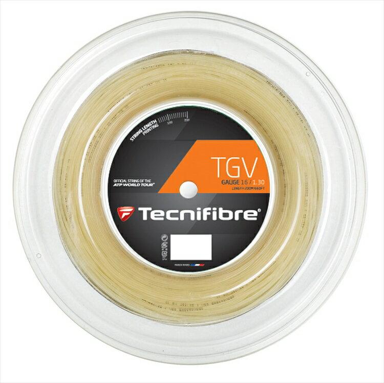 『即日出荷』「新パッケージ」Tecnifibre(テクニファイバー)「TGV(ティージーブイ) 200mロール TFR907」硬式テニスストリング(ガット)【KPI】「あす楽対応」
