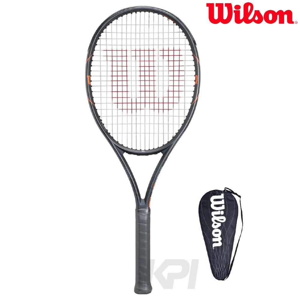 Wilson(ウイルソン)「BURN FST 99(バーンFST 99) WRT729110」硬式テニスラケット(スマートテニスセンサー対応)【prospo】