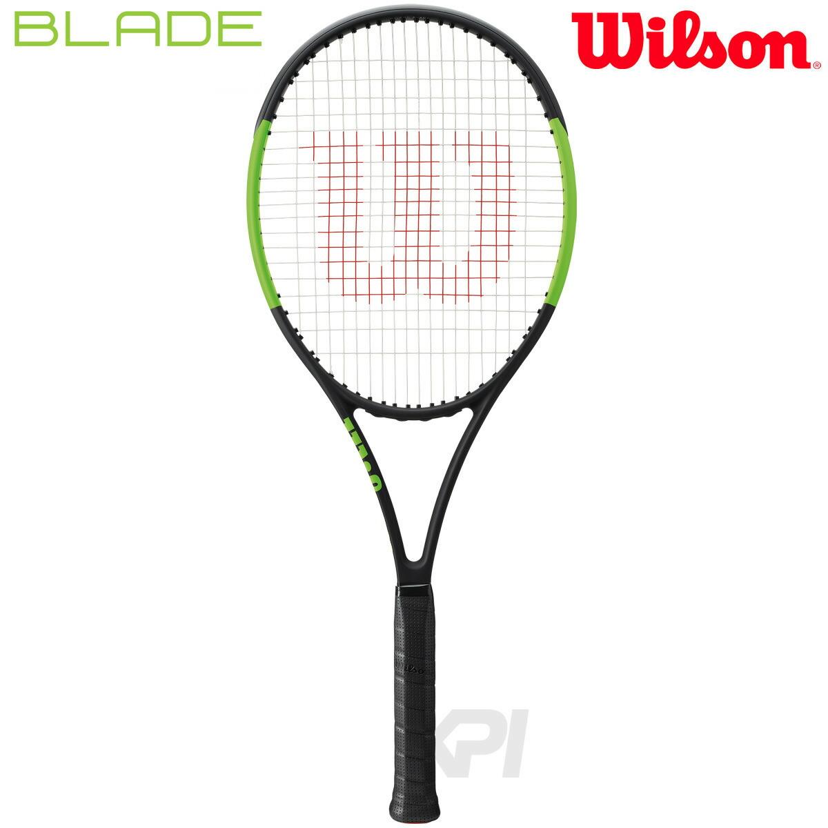 「あす楽対応」Wilson(ウイルソン)「BLADE 104 (ブレイド104) WRT733310」硬式テニスラケット(スマートテニスセンサー対応)【prospo】 『即日出荷』