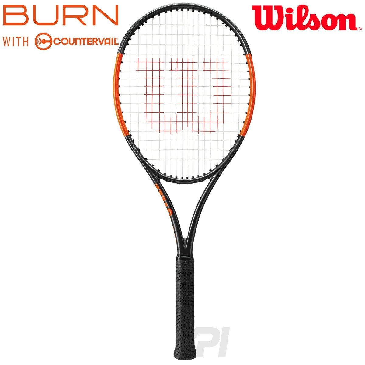 有名な高級ブランド 「あす楽対応」「2017新製品」Wilson(ウイルソン)「BURN 100S COUNTERVAIL(バーン100S カウンターヴェイル) WRT734210」硬式テニスラケット(スマートテニスセンサー対応)『即日出荷』, 平取町:99869aa8 --- canoncity.azurewebsites.net