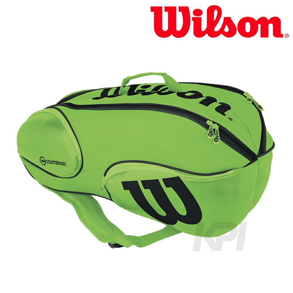 【レビューで送料無料】 Wilson(ウィルソン)「Vancouver 9Pack 9Pack GRBK GRBK WRZ845709」テニスバッグ, M&Cショップ:5c71fb5f --- cooperscreen.com