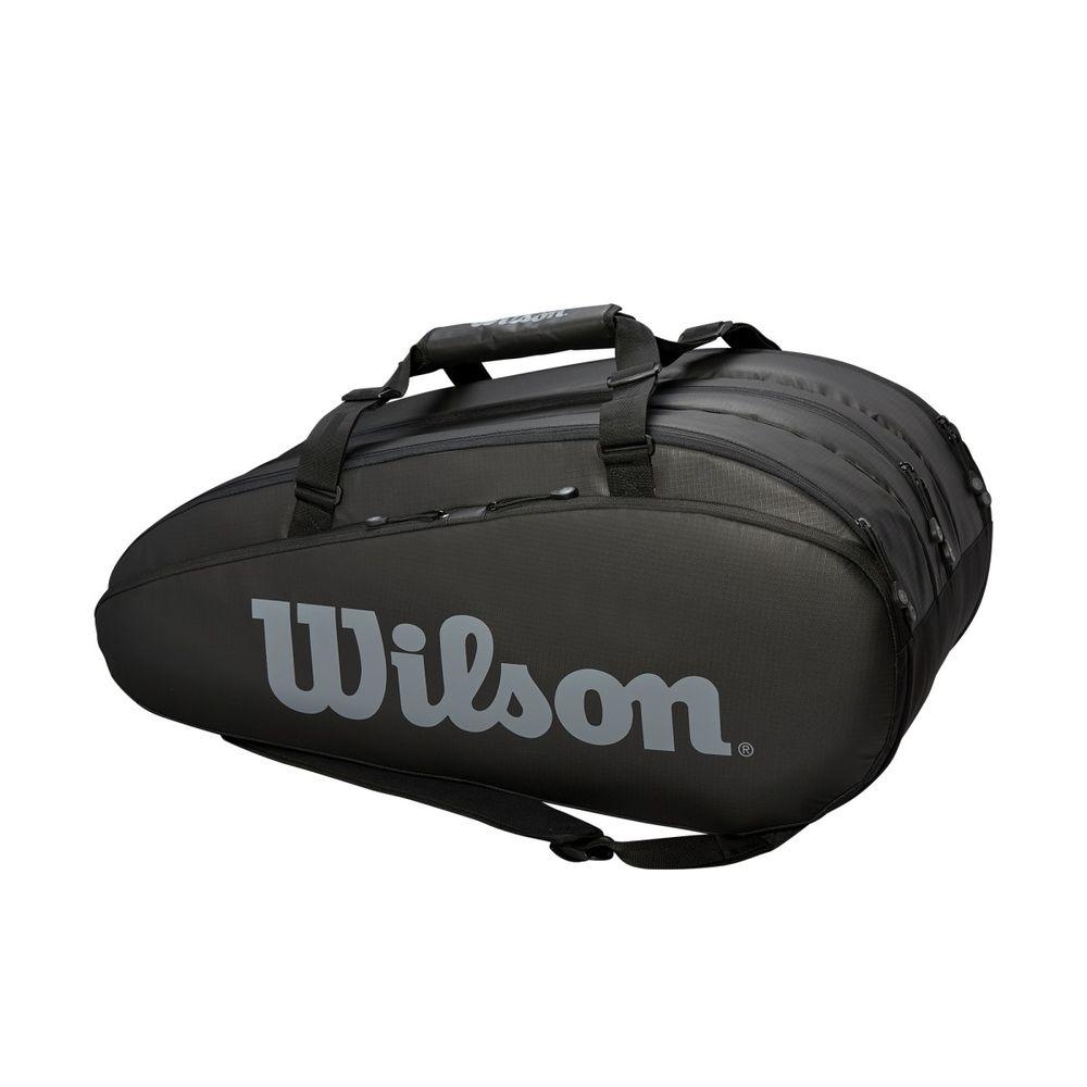 「あす楽対応」ウイルソン Wilson テニスバッグ・ケース TOUR 3 COMP BKGY ラケットバッグ(ラケット15本収納可能) WRZ849315 『即日出荷』