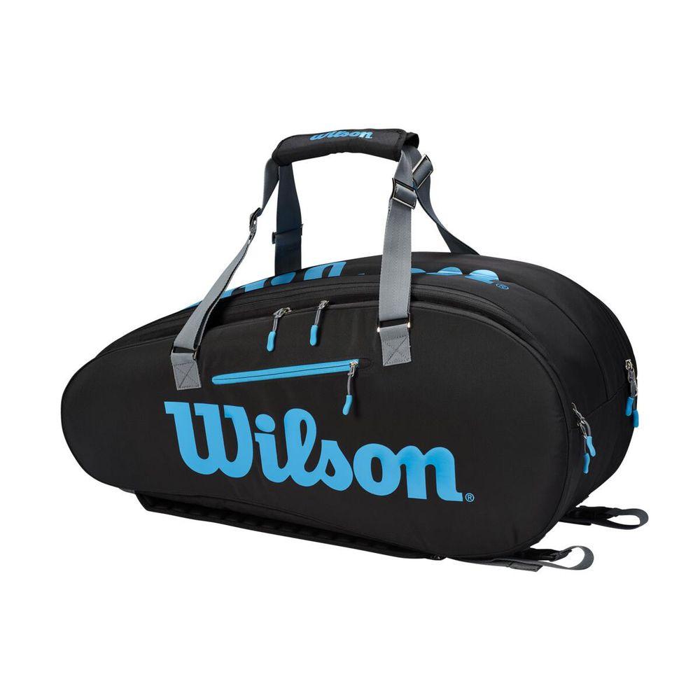 ウイルソン Wilson テニスバッグ・バドミントンバッグ・ケース ULTRA TOUR 9PK ラケットバッグ(ラケット9本収納可能) WR8009401001